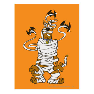 Scooby Mummy Postcard