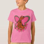 Scooby Pretty Butterfly Scooby T-Shirt