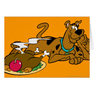 Scooby Thanksgiving 06 Card