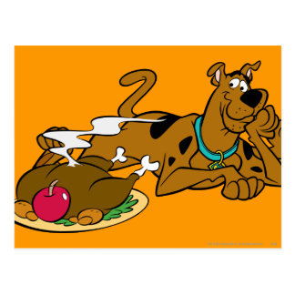 Scooby Thanksgiving 06 Postcard