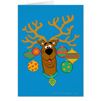 Scooby the Reindeer Greeting Cards