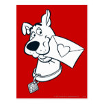 Scooby Valentine's Day 02 Postcard