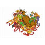 Scooby y navidad 01 de la cuadrilla postal
