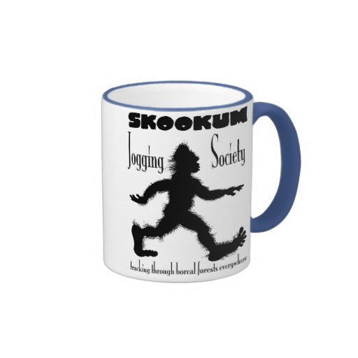 Scookum Jogging Society coffee mug