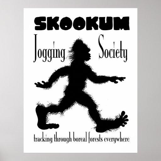 Scookum Jogging Society Poster