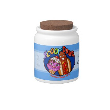 Professional Business Scoop Dawg - Tip Jar Candy Dishes