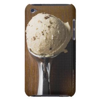 Scoop of ice cream in ice cream scoop (overhead iPod touch case