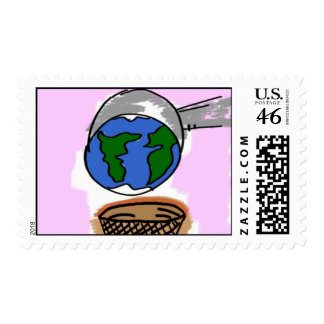 Scoop of the World Stamps