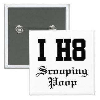 scooping poop pins