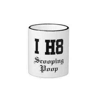scooping poop ringer mug