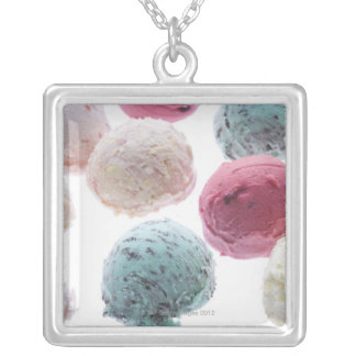 Scoops of ice creams custom necklace