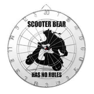 Scooter Bear Dartboard