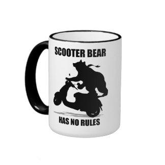 Scooter Bear Ringer Mug