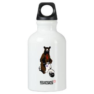 Scooter Bear Water Bottle
