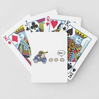 Scooter Bicycle Playing Cards