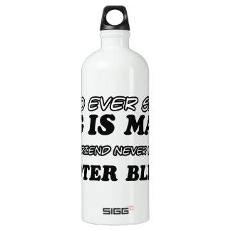 Scooter Blenny  pet designs Aluminum Water Bottle