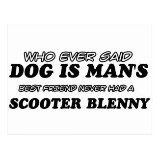 Scooter Blenny  pet designs Postcard