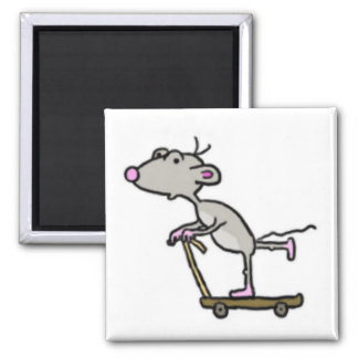 Scooter Boy Mouse Magnet