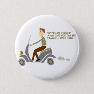 Scooter Boy Pinback Button