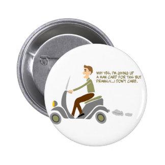 Scooter Boy Pins