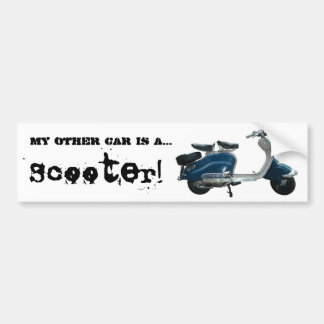 SCOOTER BUMPER STICKERS