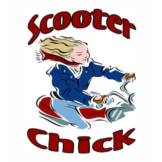 Scooter Chick shirt
