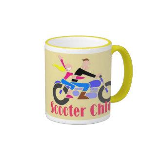 Scooter Chick Two Ringer Mug