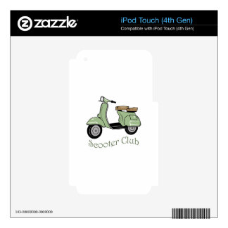 Scooter Club iPod Touch 4G Skins