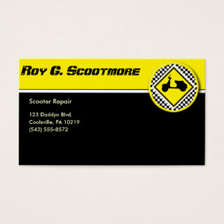 Scooter Culture Business Card
