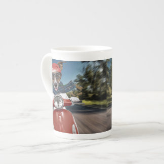 Scooter dog ,jack russell tea cup