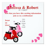 Scooter for two! card