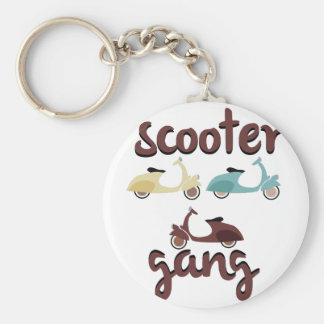 Scooter Gang Keychain