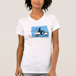 Scooter Girl Design Tshirts