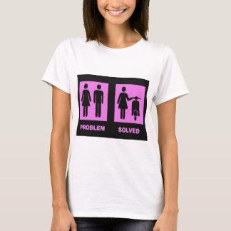 scooter girl no problem pink T-Shirt