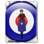 Scooter girl on 3d mod target