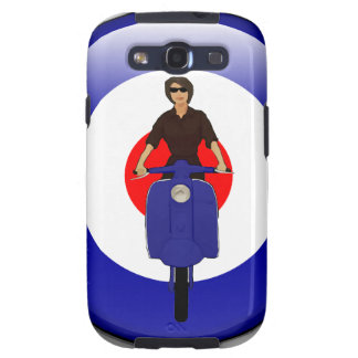 Scooter girl on 3d mod target galaxy s3 cover