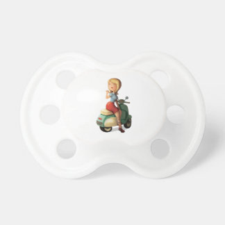 Scooter Girl Pacifier