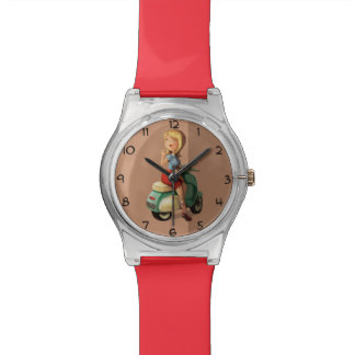 Scooter Girl Wrist Watches