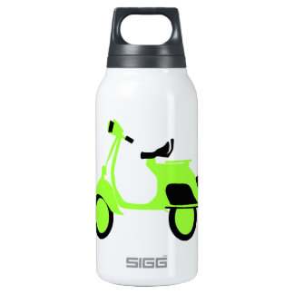 Scooter Green Thermos Bottle