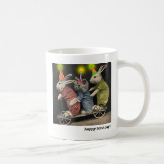 scooter happy birthday mug by jessi k