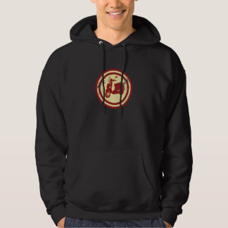 SCOOTER HOODED PULLOVER