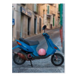 Scooter in Italy Post Cards
