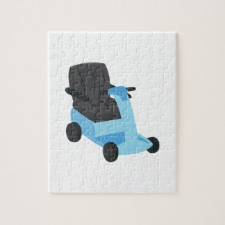 Scooter Jigsaw Puzzle