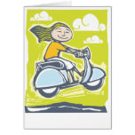 Scooter Jump Greeting Cards
