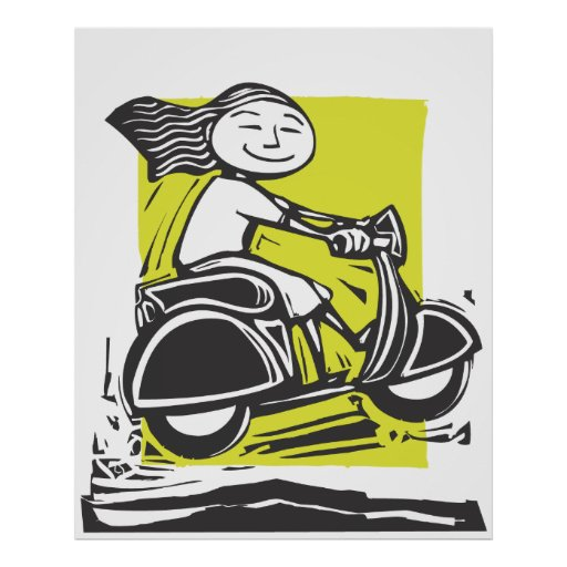Scooter Jump Posters