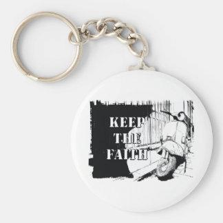 Scooter Keep the Faith Keychain