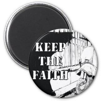 Scooter Keep the Faith Magnet
