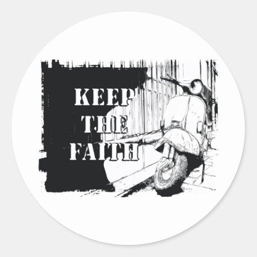 Scooter Keep the Faith Sticker