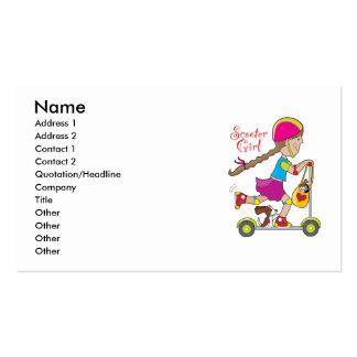Scooter Kid Business Card