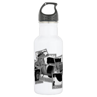 Scooter Montage Stainless Steel Water Bottle